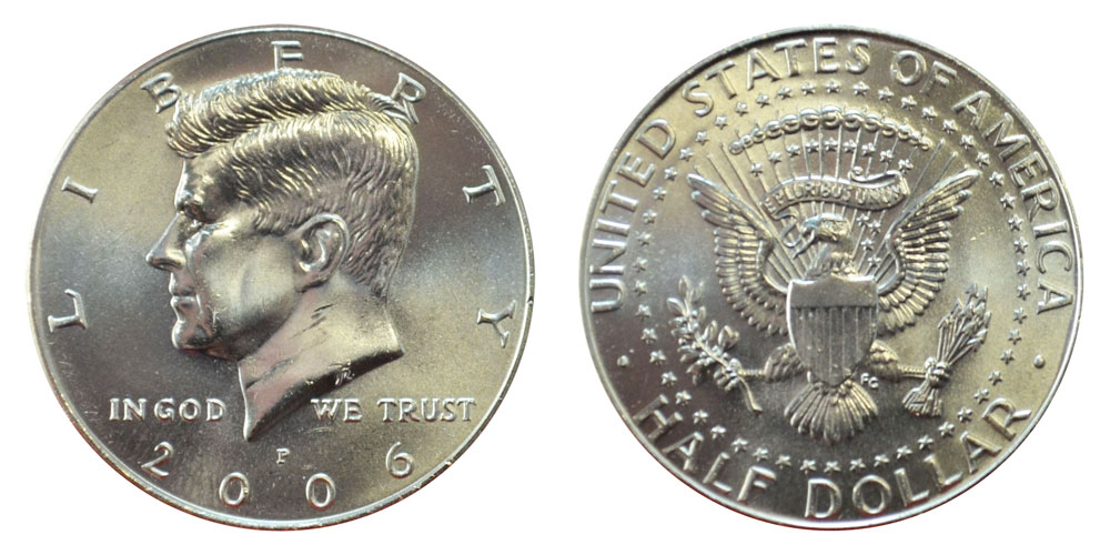 Coin from Mint Roll 2004 P Kennedy Half Dollar ~ U.S
