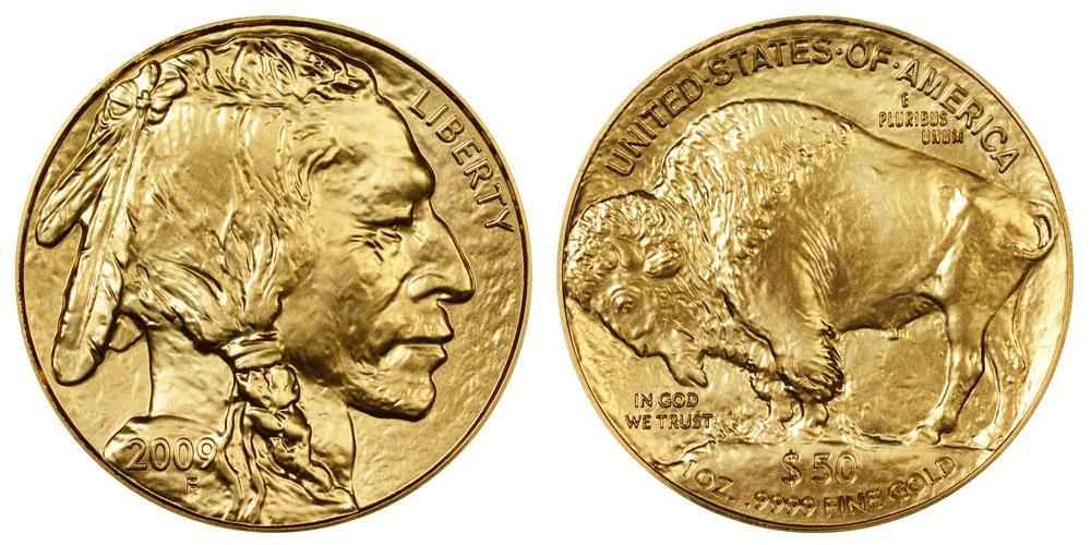 "2008 United States 50 Dollars /""American Buffalo/"" Gold Bullion Coinage"