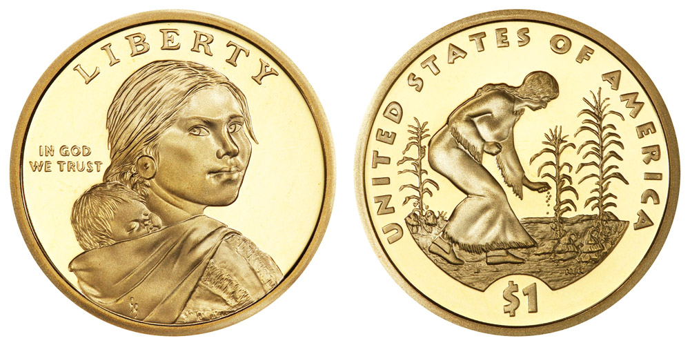 2010 S Native American Sacagawea//Golden Dollar Proof US Mint