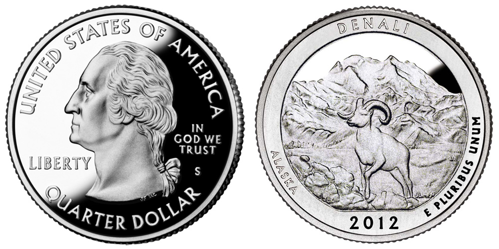 2011-S BU NATIONAL PARKS QUARTER PROOFS SET OF 5 AMERICA THE BEAUTIFUL