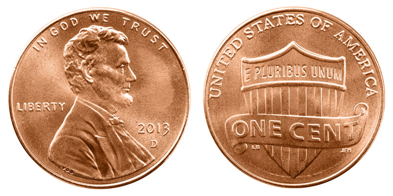 2013 D Lincoln Shield Cent Penny Value And Prices