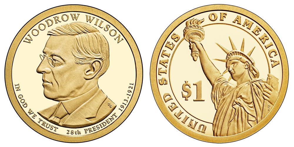 All 2013 D 2014 Harding Taft Wilson Sacagawea /& Presidential Dollars 6 Coins
