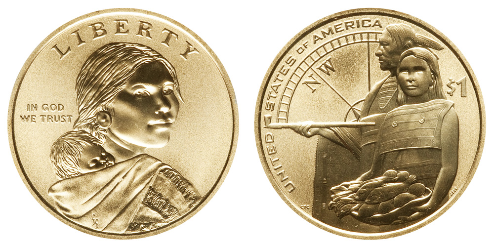 2012 D  SACAGAWEA  NATIVE AMERICAN DOLLAR from MINT SET