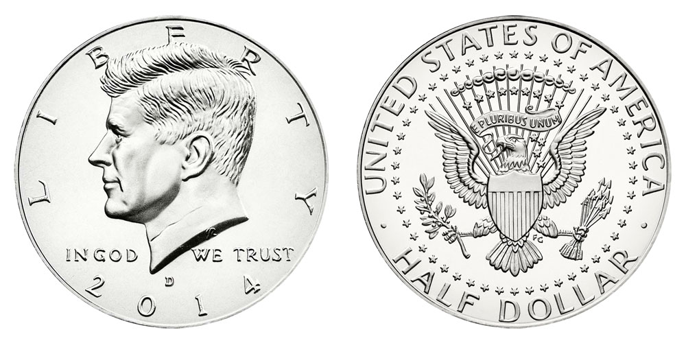 2014 D Silver 50th Anniversary Set Kennedy Low Mintage HIGH RELIEF Half Dollar