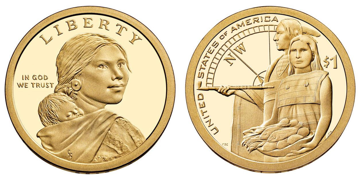 2010 2011 2012 2013 S PROOF DCAM SACAGAWEA Native American $1 DOLLAR 4 coin set