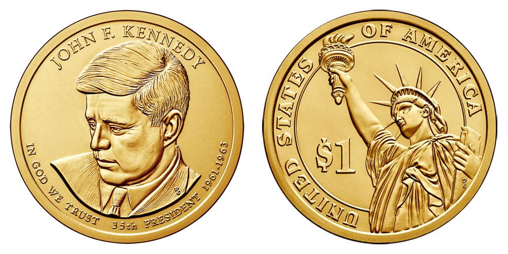 US dollar coin