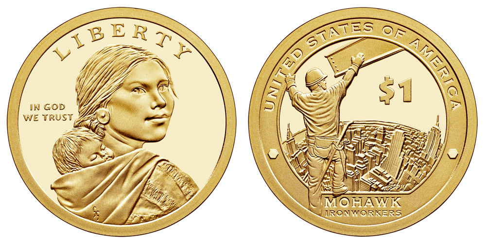 2013-S Mirror Proof Native American Dollar Sacagawea  Lewis Clark TREATY OF 1778