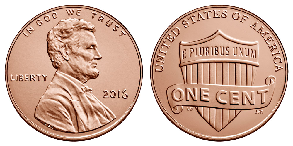2016 Lincoln Shield Penny Coin Value Prices Photos Amp Info