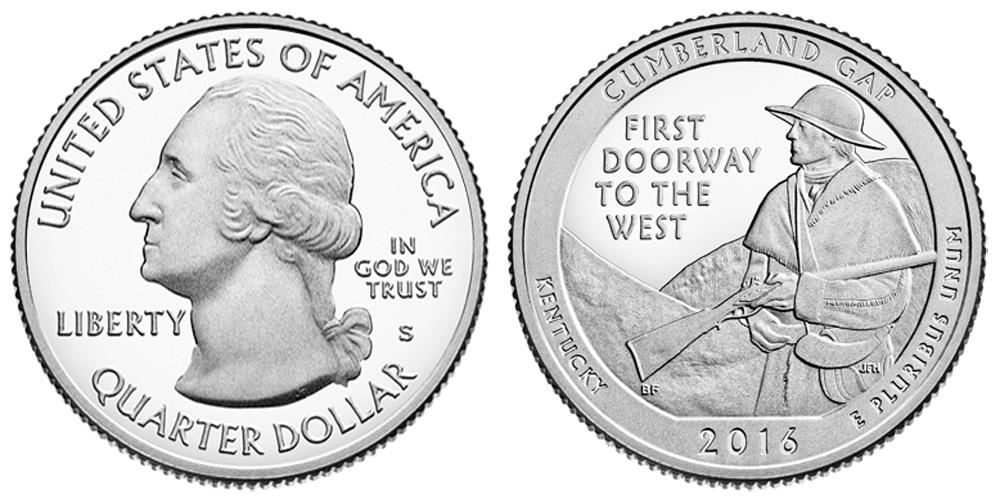 national park coin folders