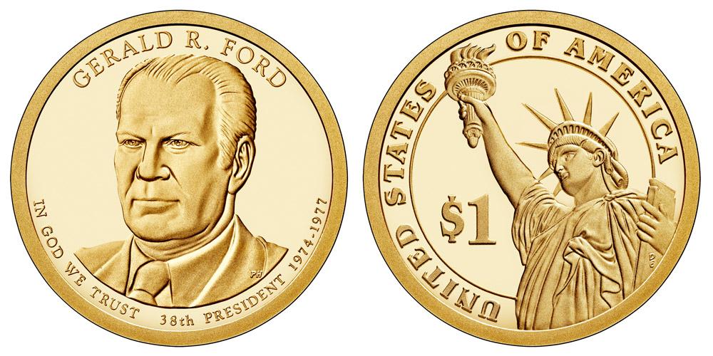 2016 P RICHARD NIXON  GERALD FORD /& RONALD REAGAN DOLLAR COINS
