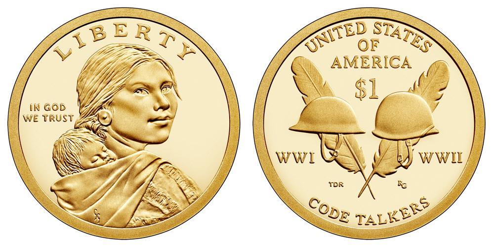 2016 P Native American Sacagawea 25 coin roll unopened box #16NA