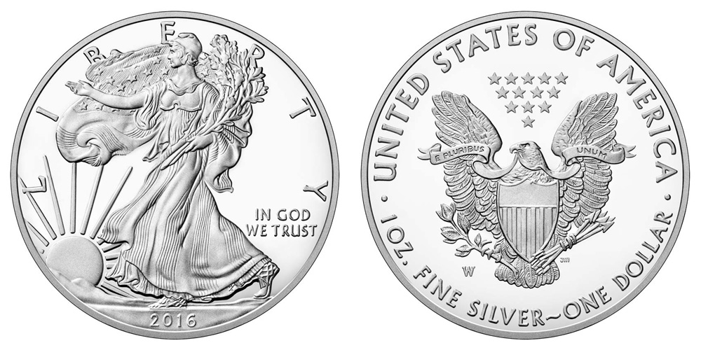 2016-W $1 SILVER EAGLE ✪ PCGS SP-70 ✪ 1ST STRIKE LETTERED EDGE MOY ◢TRUSTED◣
