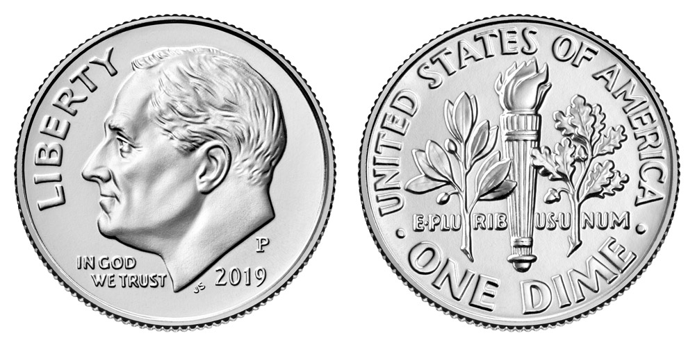 2018 P Philadelphia Mint Roosevelt Dimes 1 Roll or 50 Coins or $5 BU MS UNC