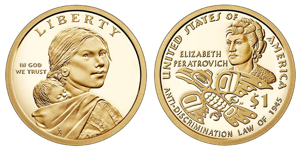 2020 S Proof Sacagawea Dollar
