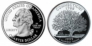1999 Connecticut State Quarter
