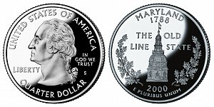 2000 Maryland State Quarter