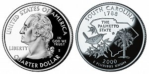 2000 South Carolina State Quarter