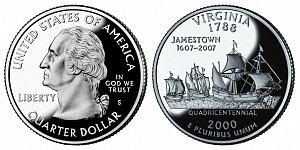 2000 Virginia State Quarter
