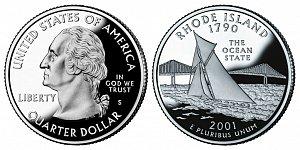 2001 Rhode Island State Quarter