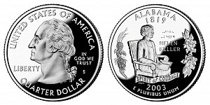 2003 Alabama State Quarter