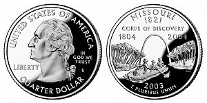 2003 Missouri State Quarter