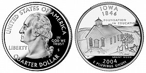 2004 Iowa State Quarter