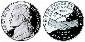 2004 Westward Journey Jefferson Nickel - Peace Medal
