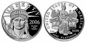 2006 American Platinum Eagle