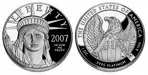 2007 American Platinum Eagle