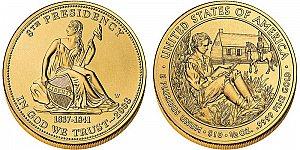 2008 Martin Van Buren's Liberty First Spouse Gold Coin