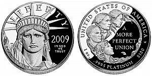 2009 American Platinum Eagle