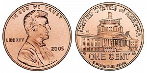 2009 Lincoln Bicentennial Cent - Presidency in Washington DC