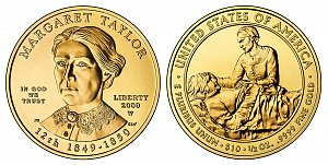 2009 Margaret Taylor First Spouse Gold Coin