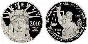 2010 American Platinum Eagle