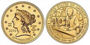 2010 James Buchanan's Liberty First Spouse Gold Coin