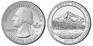 2010 Mount Hood National Forest Quarter - Oregon