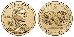 2010 Sacagawea Native American Dollar Coin