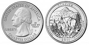 2011 Glacier National Park Quarter - Montana