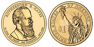 2011 Rutherford B. Hayes Presidential Dollar Coin