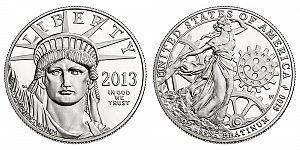 2013 American Platinum Eagle