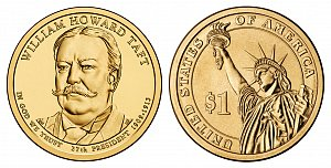 2013 William Howard Taft Presidential Dollar Coin
