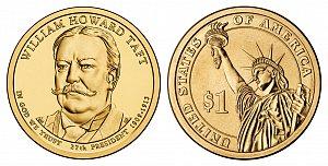 2013 William Howard Taft Presidential Dollar Coin