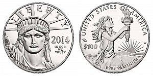 2014 American Platinum Eagle