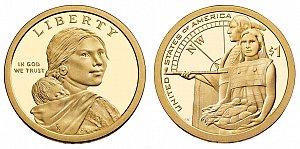 2014 Sacagawea Native American Dollar Coin Design