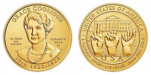 2014 Grace Coolidge First Spouse Gold Coin