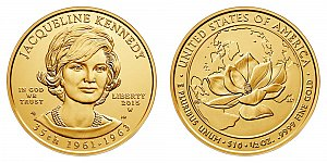 2015 Jacqueline Kennedy First Spouse Gold Coin