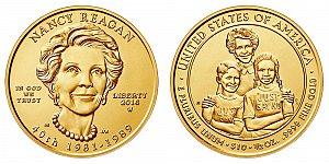 2016 Nancy Reagan First Spouse Gold Coin