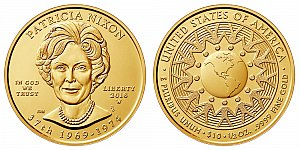 2016 Patricia Nixon First Spouse Gold Coin