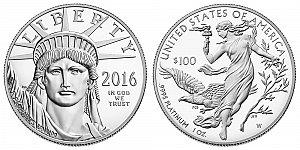2016 American Platinum Eagle