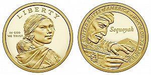2017 Sacagawea Native American Dollar Coin Design